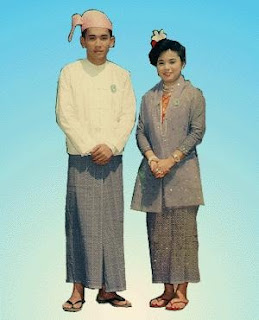 ชุดประจำชาติของประเทศพม่า