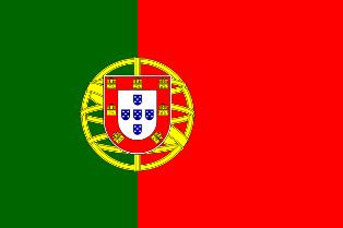 ธงชาติประเทศโปรตุเกส Portugal