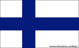 ธงชาติประเทศฟินแลนด์ Finland