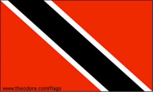 ธงชาติประเทศตรินิแดดและโตเบโก Trinidad and Tobago