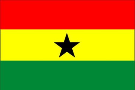 ธงชาติประเทศกานา Ghana