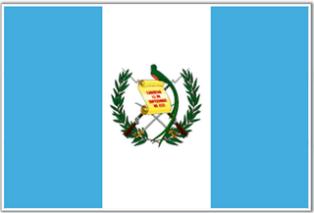 ธงชาติประเทศกัวเตมาลา Guatemala