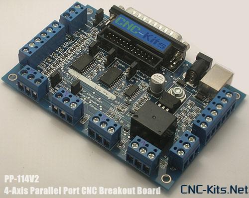 break out board for cnc pc control ,คู่มือบอร์ดควบคุม mini cnc