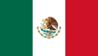 ธงชาติประเทศเม็กซิโก Mexico