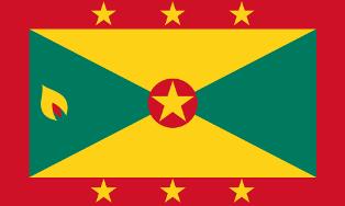 ธงชาติประเทศเกรเนดา Grenada