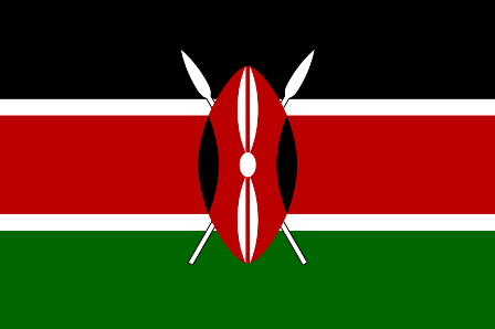 ธงชาติประเทศเคนยา Kenya