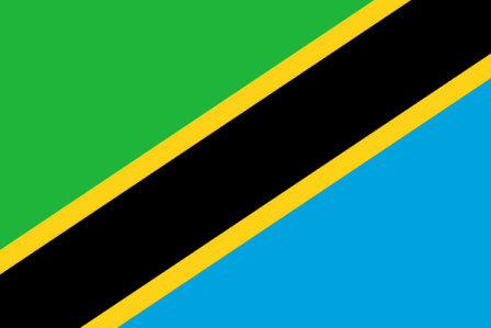 ธงชาติประเทศแทนซาเนีย Tanzania