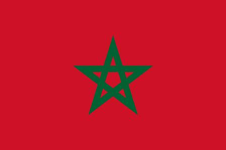 ธงชาติประเทศโมร็อกโก Morocco