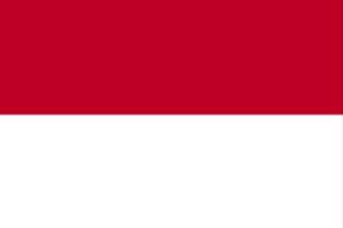 ธงชาติประเทศโมนาโก Monaco