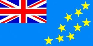 ธงชาติประเทศตูวาลู Tuvalu