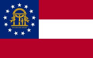 ธงชาติประเทศจอร์เจีย Georgia
