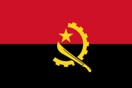 ธงชาติประเทศแองโกลา Angola