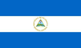 ธงชาติประเทศนิการากัว Nicaragua