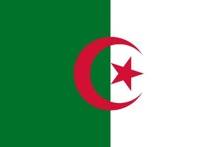ธงชาติประเทศแอลจีเรีย Algeria