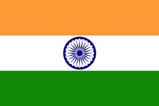 ธงชาติประเทศอินเดีย India