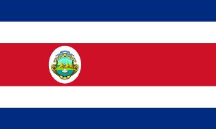 ธงชาติประเทศคอสตาริกา Costa Rica