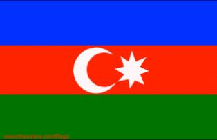 ธงชาติประเทศอาเซอร์ไบจาน Azerbaijan