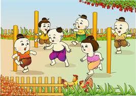 ลิงชิงหลัก การละเล่นของไทย