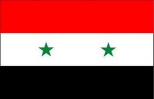 ธงชาติประเทศซีเรีย Syria