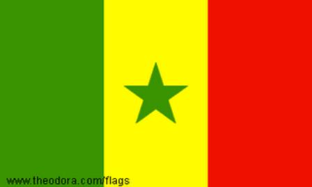 ธงชาติประเทศเซเนกัล Senegal