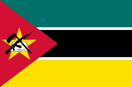 ธงชาติประเทศโมซัมบิก Mozambique