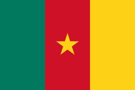 ธงชาติประเทศแคเมอรูน (Cameroon)