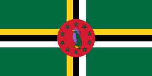 ธงชาติประเทศโดมินิกา Dominica