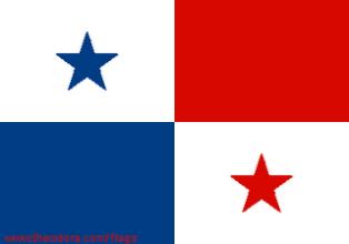 ธงชาติประเทศปานามา Panama