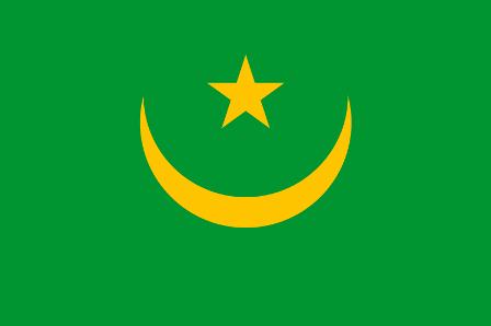 ธงชาติประเทศมอริเตเนีย Mauritania