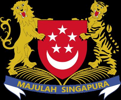สัญลักษณ์ตราแผ่นดินของสาธารณรัฐสิงคโปร์ (republic of Singapore)