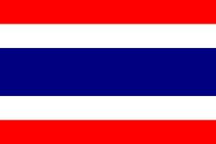 ธงชาติประเทศไทย Thailand