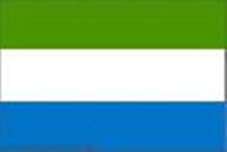 ธงชาติประเทศเซียร์ราลีโอน Sierra Leone