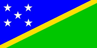 ธงชาติประเทศหมู่เกาะโซโลมอน Solomon Islands