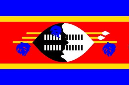 ธงชาติประเทศสวาซิแลนด์ Swaziland