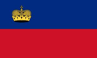 ธงชาติประเทศลิกเตนสไตน์ Liechtenstein