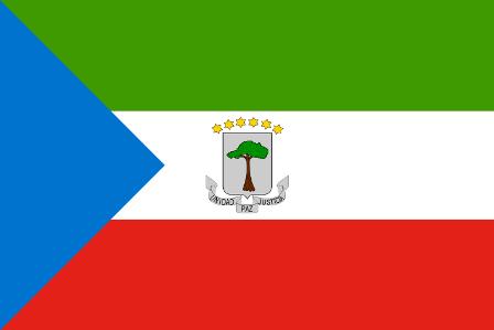 ธงชาติประเทศอิเควทอเรียลกินี (Equatotorial Guinea)