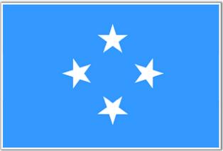 ธงชาติประเทศไมโครนีเซีย Micronesia