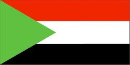 ธงชาติประเทศซูดาน Sudan